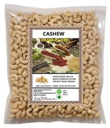 ORGANIC HERBS Cashew nut (Kaju) 500 gm