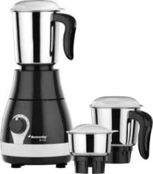 Butterfly Arrow 500 W Mixer Grinder Grey, 3 Jars