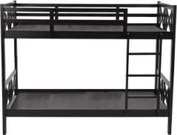 Woodness Liberty Solid Wood Bunk Bed Finish Color - Dark Brown
