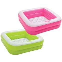 Intex Inflatable Play Box Pool (Multicolor)