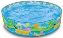 starsky 4 Feet Portable Swimming Pool For Kids Multicolor