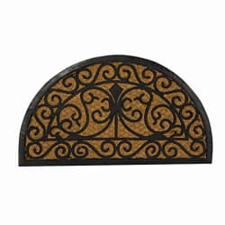 SWHF Coir and Rubber Door Mat: Virgin Rubber and Extremely Durable (70X40 cm)