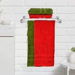 NANDAN JOY Cotton 460 GSM Hand Towel Set Pack of 4
