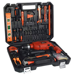 IBELL IBL TD13-100, 650W MS Professional Tool Kit (Red) - Pack of 115