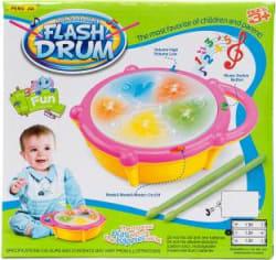 Aaryan Enterprise Flash Drum For Kids Multicolor