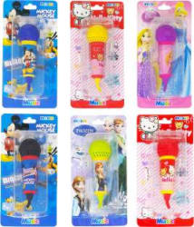 Parteet Lovely Mic Shape Eraser Reward Kids/Birthday Return Gifts (Pack of 6) Non-Toxic Eraser Multicolor