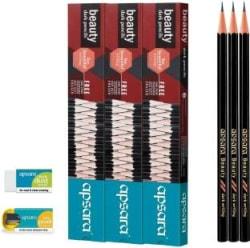 Apsara Beauty Pencil Set of 3, Black