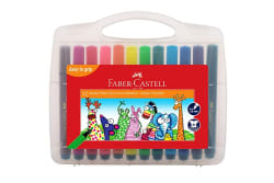 Faber-Castell 12 Jumbo Fibre-Tip Colour Markers