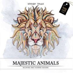 Majestic Animals - Colouring books for Adults with tear out sheets(English, Paperback, unknown)