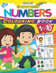 My Activity- Numbers Colouring Book English, Paperback, unknown