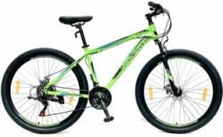 Urban Terrain UT3002A27.5 Alloy MTB with 21 Shimano Gear and Installation services 27.5 T Mountain/Hardtail Cycle 21 Gear, Green