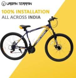 Urban Terrain UT1001 MTB 27.5 T Mountain Cycle 21 Gear, Blue