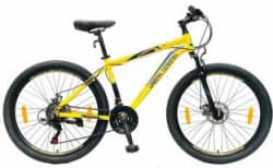 Urban Terrain UT3002A26 Alloy MTB with 21 Shimano Gear and Installation services 26 T Mountain/Hardtail Cycle 21 Gear, Yellow