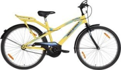 Hero Skyper 26 T Mountain/Hardtail Cycle Single Speed, Yellow, Blue