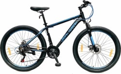 Urban Terrain UT3001A26 Alloy MTB with 21 Shimano Gear and Installation services 26 T Mountain/Hardtail Cycle 21 Gear, Black