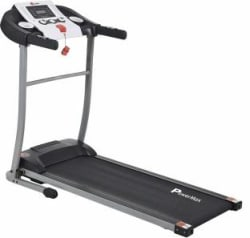 Powermax Fitness Power max Fitness TDM-98 1.75HP, Light Weight, Foldable Motorized Treadmill for Cardio Workout at Home Treadmill