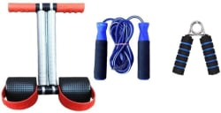 PIRENE ANYWHERE AB BUILDING AB EXERCISER WITH SKIPPING ROPE AND FOAM GRIPPER Home Gym Kit