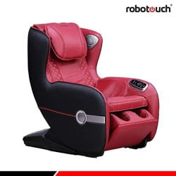 Robotouch Relaxo Pro Massage Sofa With Foldable Footrest - Red