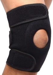 Tima Knee Cap for Knee Pain, Gym, Sports, Running Knee Support Black