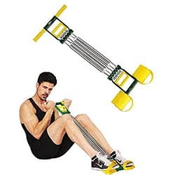 FITSY ® 3-in-1 Bicep & Ab Exerciser with Inbuilt Hand Gripper