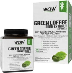 WOW Life Science Green Coffee Bean 50% Chlorogenic Acid Extract Capsules 60 No