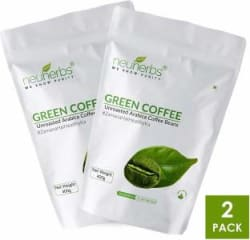 Neuherbs Green Coffee Beans for Weight Loss Management ( Pack of 2) 800 g