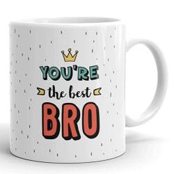 Oye Happy Ceramic Coffee Mug - Multicolour, 330 ml