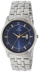 Titan Karishma Analog Blue Dial Men s Watch -NL1774SM01