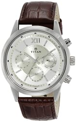 Titan Neo Analog Champagne Dial Men s Watch - 1766SL01