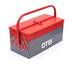 OTB Automobile Bike Repair/Wrench Tool kit Set/Tool Box Kit/Hand Tools Set/Wrench Set/Motorcycle Tools/Socket Wrench Tool case/Tool Case - 5 Compartments