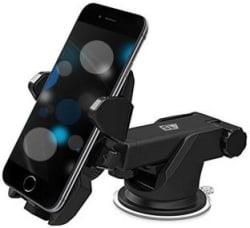 ELV Car Mobile Holder for Dashboard Black