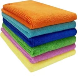 Sheen Microfiber Vehicle Washing Cloth Pack Of 6