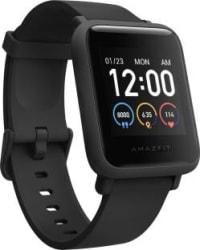 Huami Amazfit Bip S Lite Smartwatch Black Strap, Regular