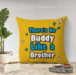 Flipkart SmartBuy Designer Cushion, Chawal Roli Pack, Rakhi Set Rakhi, Cushion, Roli, Chawal