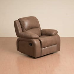 Home Centre Montoya One Seater Textured Reclining Arm Chair