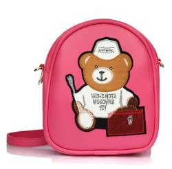 Mammon women s pink backpack handbag sling bags for girls