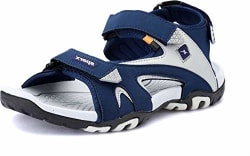 Sparx Men s Navy Blue and Grey Sandals (SS-453)