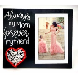 VAH Table Photo Frame / Wall Hanging for Home Dcor Mother day Gift Love Gift Valentine s Day Gift Corporate Gift Wooden