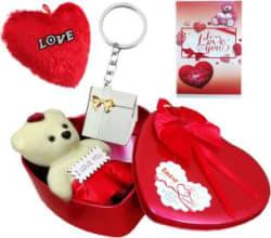 OFIXO Soft Toy, Greeting Card, Keychain Gift Set