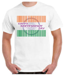 RITZEES White Dry-Fit Polyester Tshirt on Independence Day - Buy RITZEES White Dry-Fit Polyester Tshirt on Independence Day Online at Low Price - Snapdeal.com