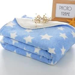 BRANDONN New Born Wrapper Cum Baby Blanket for Babies