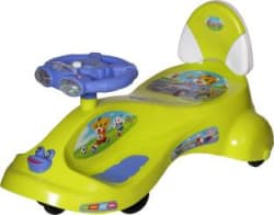 Dash Kids Deluxe Free Wheel Magic swing concept car Ride-on(Green) Rideons & Wagons Non Battery Operated Ride On Green