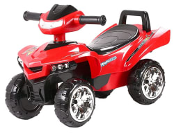 Toyhouse Racing Turbo Push ATV , Red