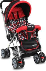 LuvLap Sunshine new Baby Stroller Stroller 3, Red