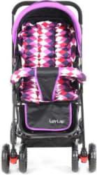 LuvLap Sunshine Baby Stroller - Purple Checks Stroller 3, Purple