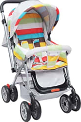 R for Rabbit Lollipop Lite Colorful Baby Stroller and Pram for Baby|Kids|Infants|New Born|Boys|Girls of 0 to 3 Years(Rainbow Multi Color)