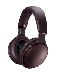 Panasonic RP-HD605NE-T Noise Cancelling Headphones with Wireless Bluetooth and Smartphone Siri or Google Voice Assistant Over The Ear Headphone (Brown)