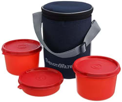 Signoraware Executive Lunch Box with Bag Med (Red)