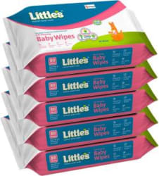 Little s Soft Cleansing Baby Wipes with Aloe Vera, Jojoba Oil and Vitamin E 400 Wipes
