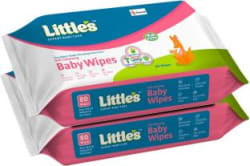 Little s Soft Cleansing Baby Wipes with Aloe Vera, Jojoba Oil and Vitamin E 160 Wipes